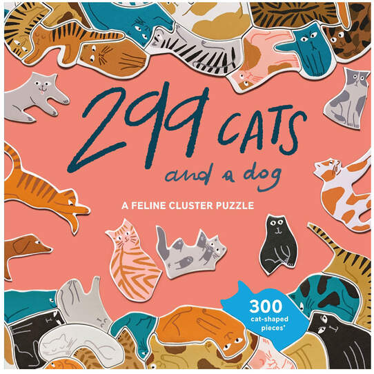 299 Cats and a dog - 300 brikker